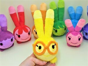 Squeeky peepers plush set of 8 toys Abby Hatcher toy Pink toy without pacifier