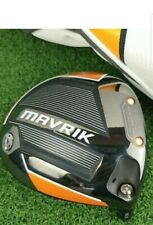 Callaway Mavrik Driver 10.5 head and headcover immaculate con 1 day listing