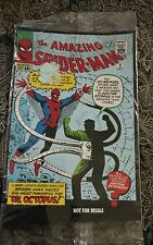 Amazing Spiderman (1963)  first Dr Octopus Not for resale promo variant HTF