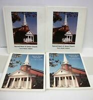 4 Vintage Sacred Heart of Jesus Terre Haute Indiana Yearbooks