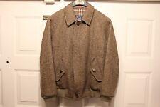 Vtg BURBERRYS London Wool Jacket  Sz Reg 38 IML B87B ENGLAND Rare