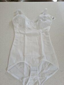 naturana 83208 non wired firm control corselette shapewear bodysuit size 38DD