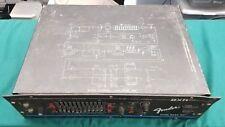 FENDER BXR SERIES DUAL BASS 400 BASS GUITAR AMPLIFIER - RACK MOUNT AMP HEAD
