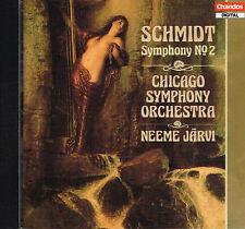 CD album: Schmidt: Symphony N° 2. Neeme Järvi. Chandos . E