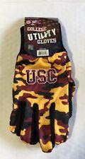 USC Trojans Camouflage Sports Utility Gloves Work gardening NEW CAMO