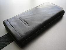 nokia 6700c black genunie leather case