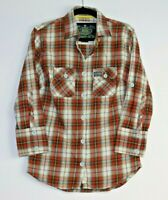 Superdry Women's 3/4 Sleeve Check Shirt Size M