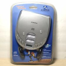 Audiovox Portable Compact Disc CD Player With Headphones CD-R/RW Compatible NEW