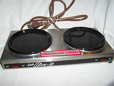 Curtis Aw-2-10 Dual Coffee Pot Decanter Warmers (#1555)
