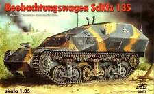 SD.KFZ 135 BEOBACHTUNGSWAGEN (GERMAN WEHRMACHT MARKINGS) 1/35 RPM RARE!