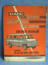 1971 GMC VanDura Rally Wagon Rally STX Shop Service Manual