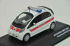 Rare !! Mitsubishi i-Miev Hong Kong Police Car 2010 J-Collection JC099 1/43