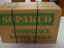 14 MRE Emergency Survival Military Ration Food 1 Case  low sodium  Best Price