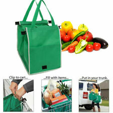 New For Supermarket Reusable Strong Large bag Trolley shopping bags grab big US