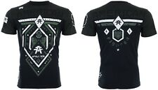 American Fighter Mens S/S T-Shirt FAIRBANKS Athletic BLACK GREEN Gym S-3XL $40