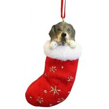 German Shorthaired Pointer Dog Santa's Little Pals Stocking Christmas Ornament
