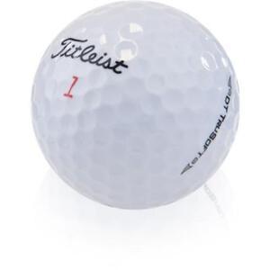 100 Titleist Trusoft AAA+ Used Golf Balls