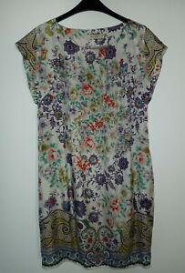 Kleid Etro Sommer Seide dress size M-L 48 Summerdress Neu Silk