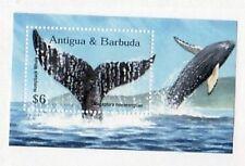 Antigua & Barbuda Sc 2165 NH Whales s/s - 1998