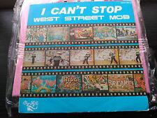 SINGLE PROMO WEST STREET MOB - I CAN'T STOP - ZAFIRO SPAIN 1985 VG+
