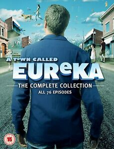 A TOWN CALLED EUREKA- THE COMPLETE SERIES- DVD
