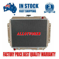 2Row/Core Radiator For HOLDEN RODEO TF G3 G6 87-97 2.2L 2.6L PETROL AT/MT
