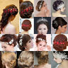 Fashion Women Head Chain Jewelry Metal Rhinestone Headband Piece Hair Band Lot
