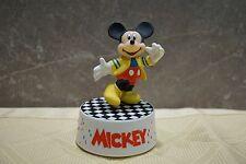 """Schmid drehende Kunstoff-Spieluhr ©Walt Disney Handgemalt """"Micky Maus""""  Top"""