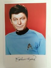 "STAR TREK - DeForest Kelley McCoy 6""X4"" Glossy Autograph Reproduction Trek Pic"