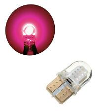 10x Pink Purple T10 194 168 W5W COB Chip SILICA Gel LED Bulb Plate License Light