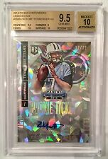 ZACH METTENBERGER RC AUTO 2014 CONTENDERS CRACKED ICE /22 BGS 9.5/10 HOT!