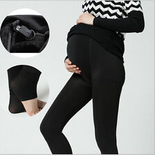 Maternity Leggings Pants Clothes Plus Velvet Thickening Winter Pregnant Women