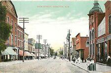 Canada, NB, Moncton, Main Street Early Postcard