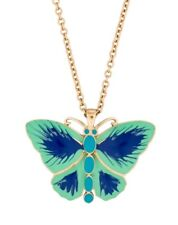 Kate Spade Mariposa Butterfly Necklace NWT Wasanabi Style Worn Emma Pillsbury