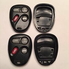 2 New Replacement 4 Button Keyless Remote Shell Cases + Pads KOBLEAR1XT 10443537