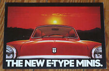 C 1978 Mini City E & HL E E-type prospectus brochure N Cooper Morris Austin Rover