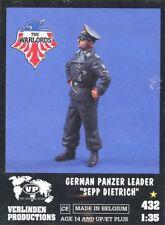 Verlinden 1:35 54mm German Panzer Leader Sepp Ditrich Resin Figure Kit #432