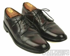 FLORSHEIM IMPERIAL Burgundy SHELL CORDOVAN 5 NAIL V CLEAT Dress Shoes - 8.5 C