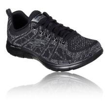 Scarpe da ginnastica sintetici marca Skechers per donna flex appeal