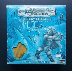Dungeons & Dragons Ewiger Winter Parker Spielerweiterung  Brettspiel vollständig