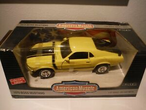 ERTL American Muscle 1970 Boss 302  Mustang 1:18 Scale Diecast Model Car