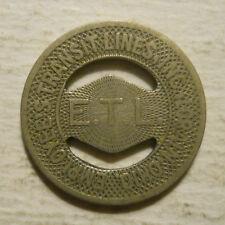 Toldeo, Ohio OH860T TARTA transit token