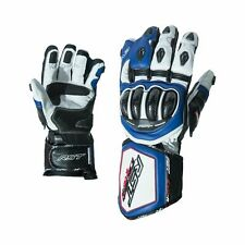 Leather Motorcycle Gloves > RST 2092 Tractech Evo R Race Sports - Blue / White