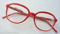 KV rote Oversizedbrille oldschool XXL Glasform Brillenfassung frame BOHO  size M