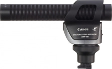 Omnidirectional / unidirectional shotgun microphone Canon DM-100 wind protection