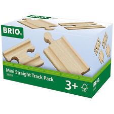 Brio 33393 MINI dritto Track Pack per trenino in legno