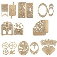 BOX Photo Album Metal Cutting Dies Stencil Scrapbooking Paper Crafts Embossing
