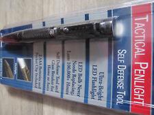 4 in 1 Tactical Pen LED Kugelschreiber + Glasbrecher Kubotan Selbstverteidigung