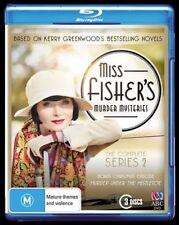 Miss Fisher's Murder Mysteries : Series 2 (DVD, 2014, 3-Disc Set)