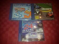 sega dreamcast lotto 3 giochi